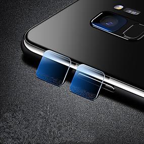 Недорогие Чехлы и кейсы для Galaxy A-SamsungScreen ProtectorA8 2018 HD Протектор объектива камеры 1 ед. Закаленное стекло
