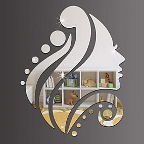 voordelige Decoratiestickers-Decoratieve Muurstickers - Spiegel muurstickers Feest Slaapkamer / Voor Binnen