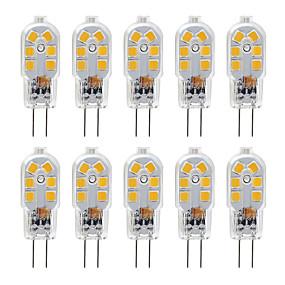 abordables Luces LED de Doble Pin-zdm g4 2.5w bombilla led 10 paquete led bi-pin g4 base 20w bombilla halógena reemplazo blanco cálido / blanco frío ac12v