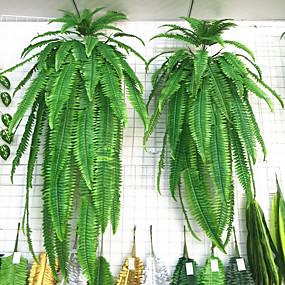 رخيصةأون أزهار اصطناعية-1 قطعة محاكاة النباتات الخضراء الجدار شنقا كبير الفارسية العشب الفارسي الحديد شجرة نبات الطحلب وهمية فسيفساء الديكور الاكسسوارات الأخضر الزهور و النبات
