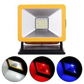 olcso LED projektorok-15 w vezetékes vészhelyzetben újratölthető hordozható a vadvilágítási lámpa