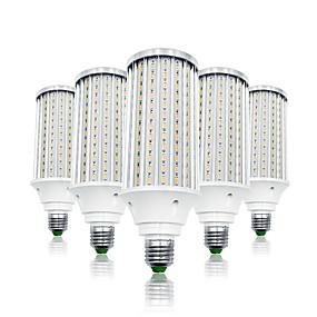 olcso LED kukorica izzók-LOENDE 5pcs 80 W LED kukorica izzók 8000 lm E26 / E27 T 216 LED gyöngyök SMD 5730 Meleg fehér Fehér 85-265 V