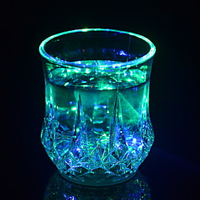 povoljno LED noćna rasvjeta-LED noćno svjetlo Kreativan Gumb Baterija pogonjena 1pc