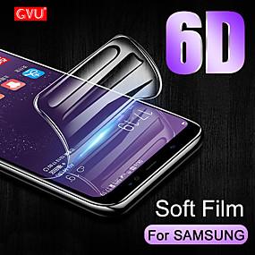 Недорогие Чехлы и кейсы для Galaxy S-пленка гидрогеля gvu полная крышка для samsung galaxy s9 s8 plus s6 s7 edge мягкий экран протектор для samsung s9 s8 s10 lite не стекло