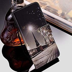 Недорогие Чехлы и кейсы для Galaxy Note 8-чехол для samsung galaxy note 9 / note 8 / galaxy note 10 кошелек / визитница / с подставкой для всего тела чехлы из искусственной кожи для samsung galaxy note 10 plus