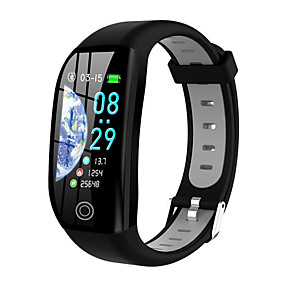 levne Chytré náramky-f21 smart náramek bluetooth fitness tracker podpora notifikace / měření krevního tlaku vestavěné gps vodotěsné chytré hodinky pro samsung / iphone / android telefony