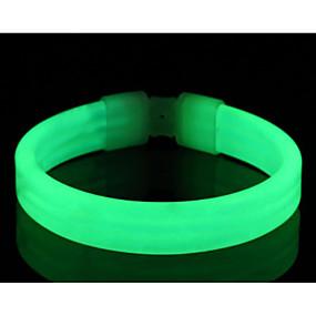 olcso Reflektirajuća oprema-biztonsági világítás / LED karpánt szaladóknak Kompakt méret mert Kempingezés / Túrázás / Barlangászat / Kerékpározás / Mászás - Fehér / Piros / Kék