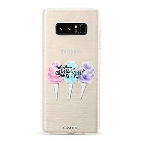 voordelige Galaxy S7 Hoesjes / covers-hoesje Voor Samsung Galaxy S9 / S9 Plus / S8 Plus Stofbestendig / Ultradun / Doorzichtig Achterkant Voedsel / Cartoon TPU