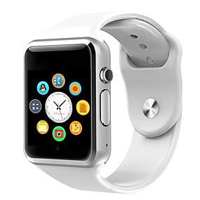 povoljno Pametni satovi-a1 ručni sat bluetooth pametni sat sportski pedometar podržava sim tf karticu za android pametni sat