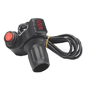 Недорогие Запчасти для мотоциклов и квадроциклов-12v-99v вел рукоятку ручки дросселя цифрового дисплея для самоката e-велосипеда электрического