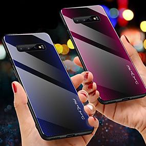 Недорогие Чехлы и кейсы для Galaxy Note 8-закаленное стекло с градиентной текстурой для samsung galaxy s10 plus s10e s10 5g s10 s9 plus s9 s8 plus s8 чехол для телефона примечание 10 плюс примечание 10 примечание 9 примечание 8 защитный чехол