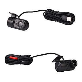 Недорогие Видеорегистраторы для авто-Автомобильный видеорегистратор камеры 140 градусов HD 720 P фронтальная камера для Android автомобильный USB-радио плеер DVR камеры