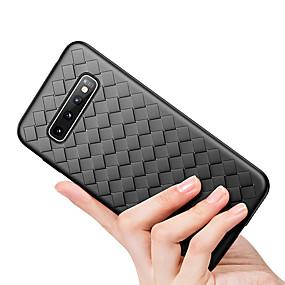 Недорогие Чехлы и кейсы для Galaxy Note 8-ультратонкий мягкий чехол для телефона tpu для samsung galaxy s10 plus s10 e s10 s9 plus s9 s8 plus s8 роскошный плетеный чехол для samsung galaxy note 10 plus note 10 примечание 9 note 8 излучающая