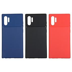 Недорогие Чехлы и кейсы для Galaxy Note 8-чехол для samsung galaxy note 9 / note 8 / galaxy note 10 противоударная задняя крышка сплошной цветной чехол для samsung galaxy note 10 / galaxy note 10 plus