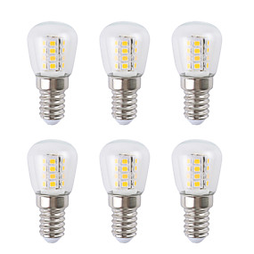 ieftine Becuri LED Glob-6pcs 3 W Bulb LED Glob 300 lm E14 26 LED-uri de margele SMD 2835 Alb Cald Alb 220-240 V
