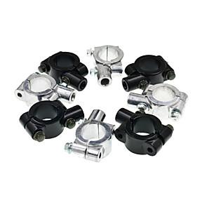 Недорогие Запчасти для мотоциклов и квадроциклов-10 мм универсальный алюминиевый мотоцикл руль держатель зеркала адаптер кронштейны зажим