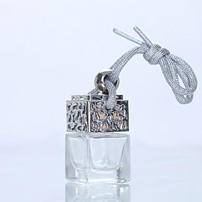 povoljno Privjesci za automobile i ornamenti-6ml bočica auto parfema za osvježivače zraka privjesak za styling automobila ukras parfema (prazna bočica bez eteričnog ulja)