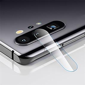 Недорогие Чехлы и кейсы для Galaxy Note-Защитная пленка для экрана Samsung Galaxy Note 10 / Note 10 Plus / Note 10 из закаленного стекла 1 шт. Защитная пленка для объектива камеры высокого разрешения (HD) / 9h твердость / взрывозащищенный