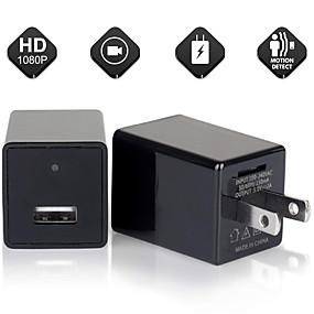 رخيصةأون CCTV Cameras-كاميرا مصغرة شاحن الهاتف محول 1080p HD كاميرا USB مع واي فاي&أمبير. كشف الحركة لمكتب المنزل مربية الفندق لنا المكونات
