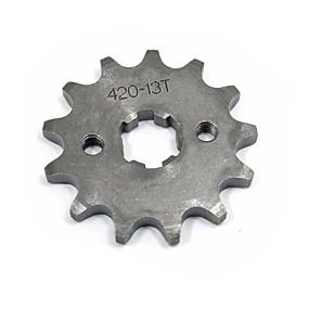 Недорогие Запчасти для мотоциклов и квадроциклов-420-17mm-13T мотоцикл зубы яму велосипед грязи квадроцикл звездочку комплект # 420 цепь