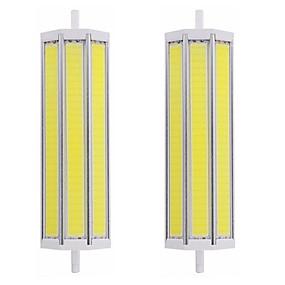 olcso LED fénycsövek-2pcs 25 W Fénycsövek 2500 lm R7S T 1 LED gyöngyök COB Tompítható Új design Meleg fehér Fehér 220-240 V 110-120 V
