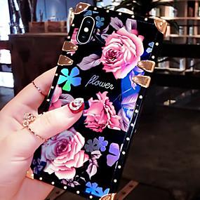 Недорогие Чехлы и кейсы для Galaxy Note 8-чехол для samsung galaxy s9 / s9 plus / s8 plus / s8 / s10 / s10e / s10 plus / note8 / note9 / m10 / m20 / m30 противоударный / выкройка задней обложки слово / фраза / броня / цветочный металл