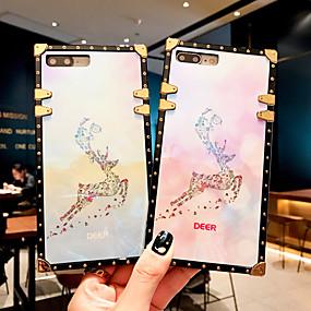 Недорогие Чехлы и кейсы для Galaxy Note 8-чехол для samsung galaxy s9 / s9 plus / s8 plus / s8 / s10 / s10 plus / s10e / note 8 / note 9 / m20 / m30 противоударный / рисунок с задней крышкой животное / блестящий блеск металл