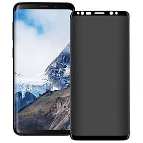 Недорогие Чехлы и кейсы для Galaxy Note-защитная пленка для экрана для Samsung Galaxy S8 / S9 / S8 Plus / S9 Plus / Примечание 8 / Примечание 9 анти-шпион закаленное стекло