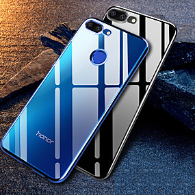 voordelige Huawei Honor hoesjes / covers-plating duidelijk siliconen hoesje voor Huawei Honor 9 Honor 9 Lite Case Transparant Soft TPU Cover voor Huawei Honor 10 Lite Honor 10i Honor 10 Honor 8x Honor 8s mobiele telefoon tas