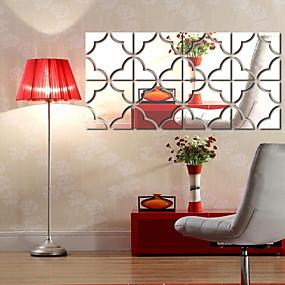 رخيصةأون ملصقات ديكور-لواصق حائط مزخرفة - ملصقات الحائط على المرآة أشكال غرفة الجلوس / داخلي
