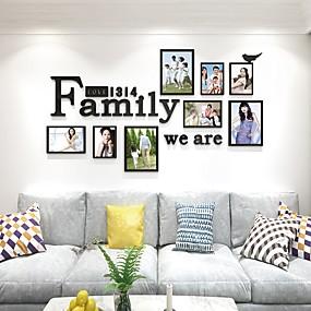 رخيصةأون ملصقات ديكور-لواصق حائط مزخرفة - لواصق حياة هادئة غرفة الجلوس / داخلي