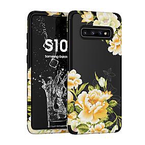 Недорогие Чехлы и кейсы для Galaxy Note 8-чехол для samsung galaxy s9 / s9 plus / примечание 9 ударопрочный / рисунок с задней крышкой flower pc