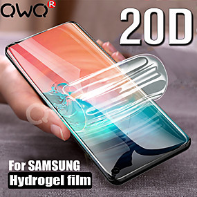 Недорогие Чехлы и кейсы для Galaxy S-20d анти-синий свет гидрогелевая пленка для samsung galaxy s10 s9 s8 plus note 8 9 10 pro защитная пленка для samsung s10e полное покрытие