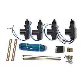 お買い得  カーエレクトロニクス-ユニバーサルカーエントリーカーリモートコントロールアクセサリー用アクチュエーター付き12Vドアパワーセントラルロックキット