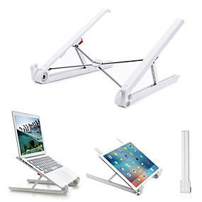 olcso USB kütyük-hordozható, összecsukható, állítható asztali notebook tartóba szerelhető laptop állvány macbook notebook számítógéphez, ipad tabletta