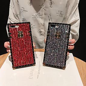 Недорогие Чехлы и кейсы для Galaxy Note 8-чехол для samsung galaxy s9 / s9 plus / s8 plus / s8 / s10 / s10 plus / s10e / note 8 / note 9 / m20 / m30 противоударный / выкройка задней брони / блестящий блеск металла