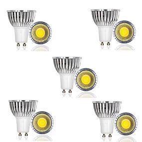 ieftine Spoturi LED-10pcs 3 W Spoturi LED 250 lm GU10 1 LED-uri de margele COB Decorativ Alb Cald Alb Rece 85-265 V