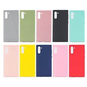 Недорогие Чехлы и кейсы для Galaxy Note 8-для Samsung Galaxy Note10 чехол силиконовый мягкий чехол для телефона ТПУ для Samsung Note10 Note 10 N975F N975 SM-N975F / DS Galaxynote10 чехол