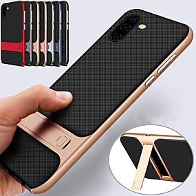 Недорогие Чехлы и кейсы для Galaxy Note 8-держатель подставка чехол для samsung galaxy note 10 плюс примечание 10 жесткий пк мягкая тпу противоударная задняя крышка для примечания 9 примечание 8