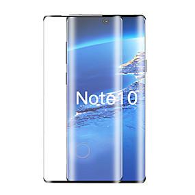 Недорогие Чехлы и кейсы для Galaxy Note-Защитная пленка для экрана Samsung Galaxy Note 10 / Note 10, а также изогнутое 3d стекло из закаленного стекла 1 шт. Передняя защитная пленка для экрана высокого разрешения (HD) / Твердость 9 ч /