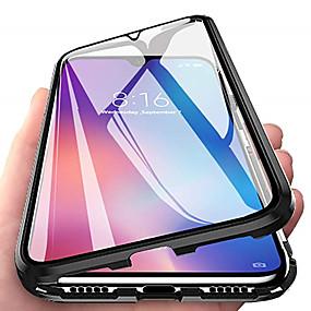 halpa Oneplus-Etui Käyttötarkoitus OnePlus OnePlus 6 / OnePlus 5T / Oneplus 7 Magneetti Suojakuori Läpinäkyvä Karkaistu lasi