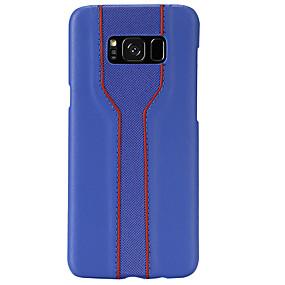 Недорогие Чехлы и кейсы для Galaxy Note 8-Кейс для Назначение SSamsung Galaxy Note 9 / Note 8 Ультратонкий / С узором Кейс на заднюю панель Геометрический рисунок Кожа PU / ПК
