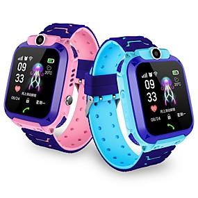 Недорогие Smart Watch Phone-Детские часы YYGM11 для iOS / Android GPS / Длительное время ожидания / Хендс-фри звонки / Сенсорный экран / Фотоаппарат Датчик для отслеживания активности / будильник / Календарь / 0.3 мегапикс.