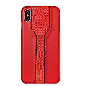 voordelige iPhone 11 Pro Max hoesjes-hoesje Voor Apple iPhone XS / iPhone XR / iPhone XS Max Ultradun / Patroon Achterkant Geometrisch patroon PU-nahka / PC