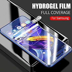 Недорогие Чехлы и кейсы для Galaxy S-гидрогелевая мягкая пленка 3d полная защитная пленка для экрана samsung galaxy s10 s10e s8 s9 plus s7 edge note 9 8 ультра тонкая прозрачная пленка