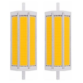 olcso LED fénycsövek-2pcs 20 W Fénycsövek 2000 lm R7S T 1 LED gyöngyök COB Tompítható Új design Meleg fehér Fehér 220-240 V 110-120 V
