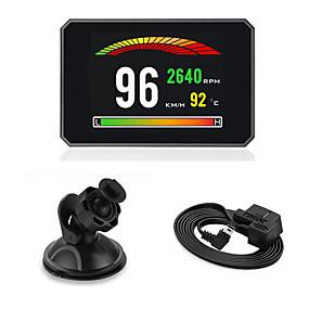 voordelige Auto-elektronica-auto head-up display digitale auto snelheid projector boordcomputer obd2 elm327 snelheidsmeter voorruit modellen p16