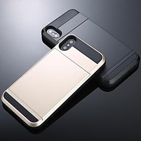 Недорогие Чехлы и кейсы для Galaxy Note 8-Кейс для Назначение SSamsung Galaxy S9 / S9 Plus / S8 Plus Кошелек / Бумажник для карт / Защита от удара Кейс на заднюю панель Однотонный ПК