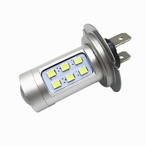 رخيصةأون السيارات & الدراجات النارية-H7 لمبات الضوء 12W LED أداء عالي 12 مصباح الرأس من أجل