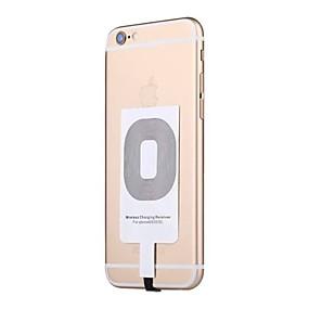 voordelige Autoladers-universele qi draadloze oplader zender patch ontvanger adapter pad voor iphone7 6 6s 5 5s enz